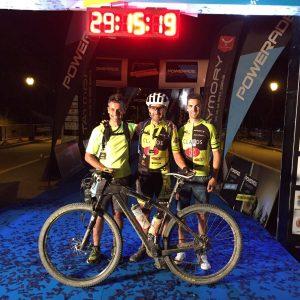 Moisés ganador de la San Sebastian – Barcelona Powerade non Stop 709km en la categoría Solo