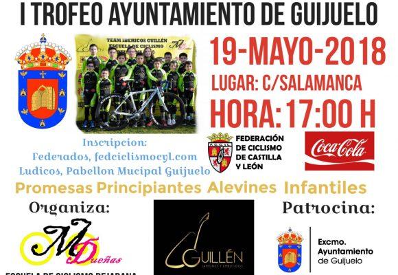 19 de mayo Trofeo de Escuelas de Ciclismo de Guijuelo