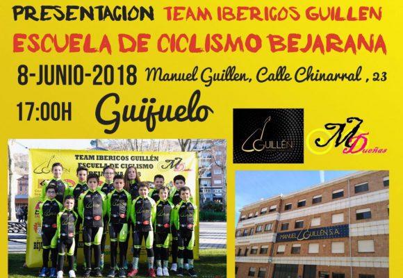 Presentación TEAM IBÉRICOS GUILLEN ESCUELA DE CICLISMO BEJARANA
