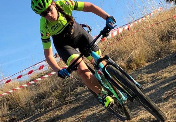 La Ciclista Bejarana Natalia Ovejero López, en la selección de Castilla y León.