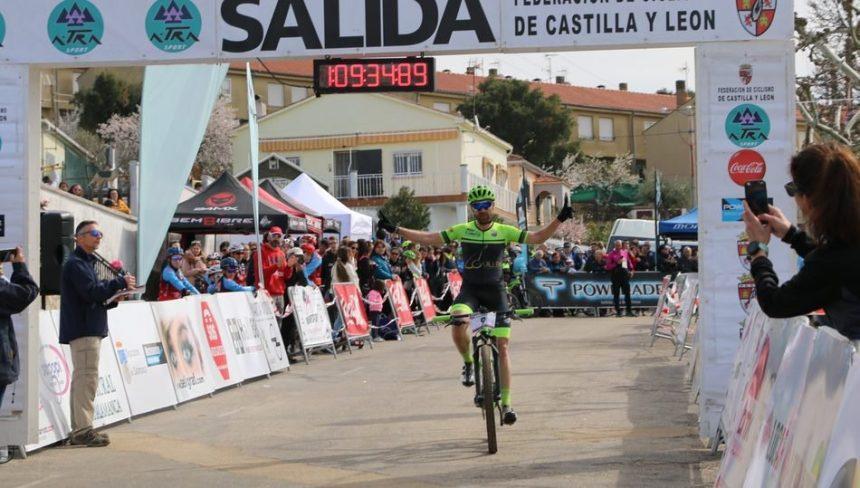 Moisés Dueñas se impone en Saucelle en la segunda prueba del I Open BTT de Castilla y León