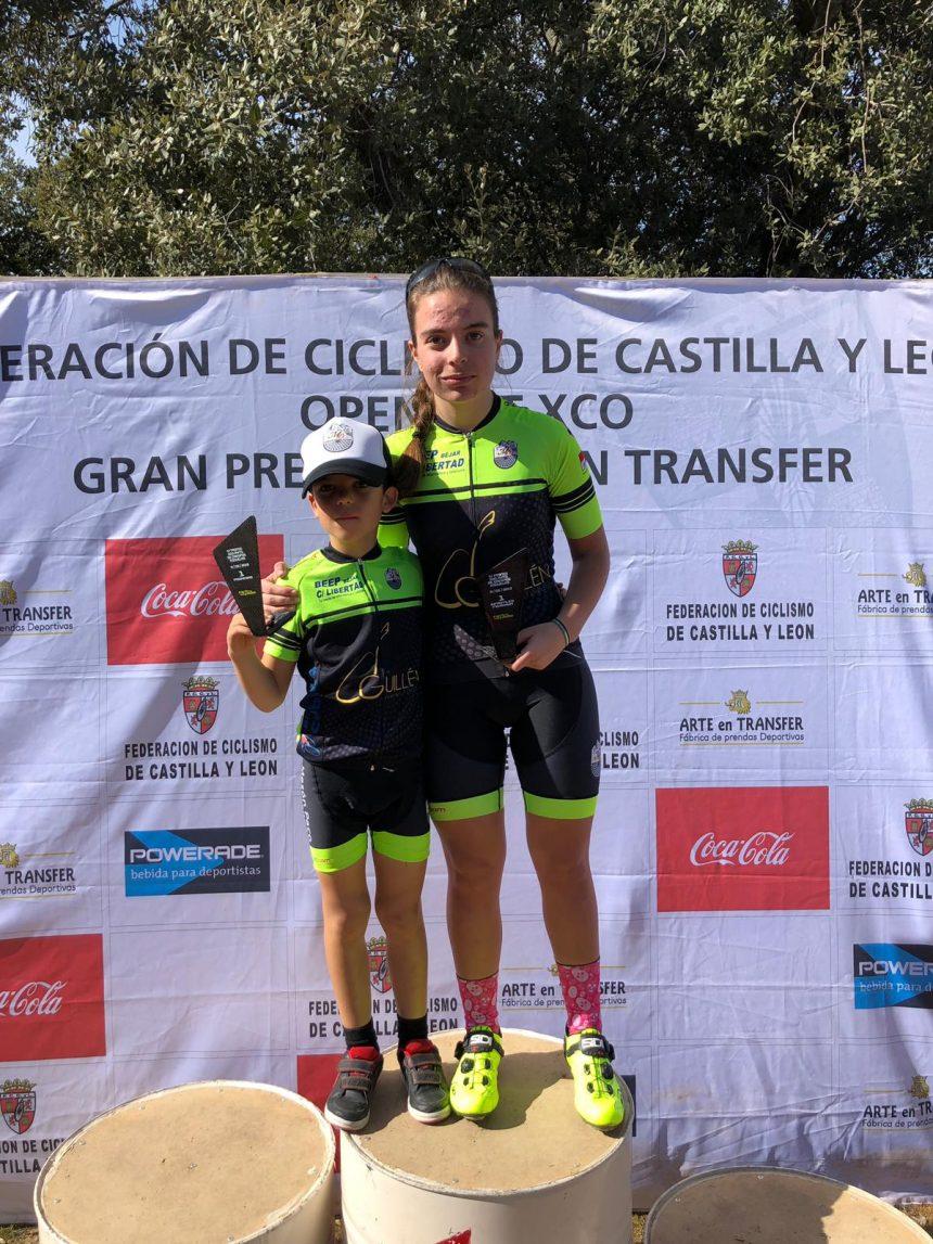 David Martín y Natalia Ovejero vencen en Crespos