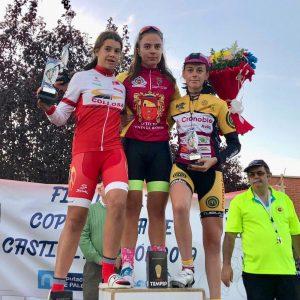 Natalia Ovejero se hace con la final de la Copa de Castilla y León, Ivan Izquierdo plata y David Martín bronce.