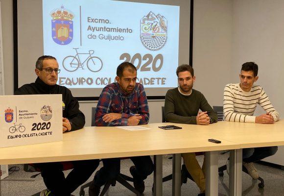 Ayuntamiento de Guijuelo y Moisés Dueñas crean un Equipo de Ciclismo Cadete